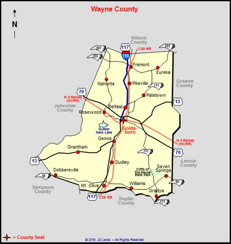 Wayne County Nc Property Records Wayne County Pa Tax Map My