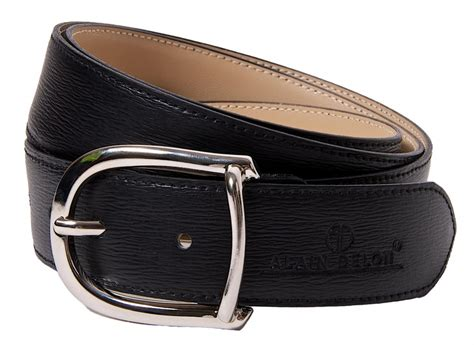 leather belt belts e shop alaindelon co uk