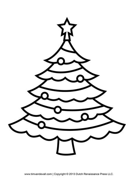Xmas Tree Drawing » Home Design 2017