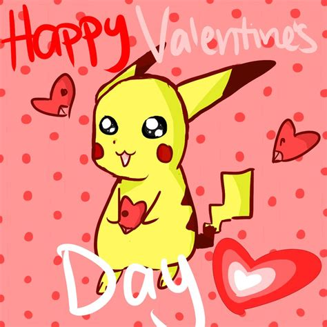 pikachu valentines day happy s day from pikachu by bowfanatic on deviantart
