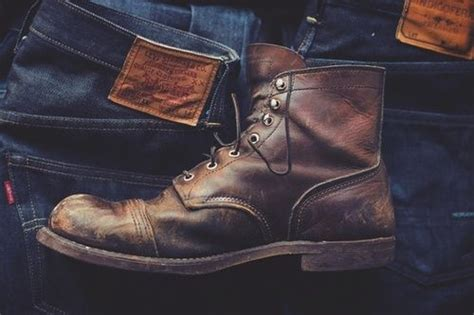 Sepatu Boots Bradleys Erudite Brown Up Leather 39 43 levis boot note to self need to find some decent boots my style