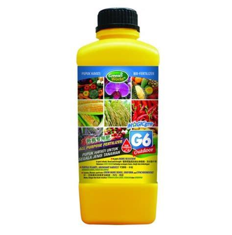 Jual Pupuk Cair Gro jual pupuk hayati cair magicgro g6 100 organic
