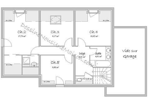 plan de maison 5 chambres plans de maisons ou villas avec 5 chambres