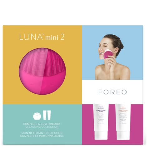Foreo Cleansing Mini foreo cleansing collection mini 2 fuchsia