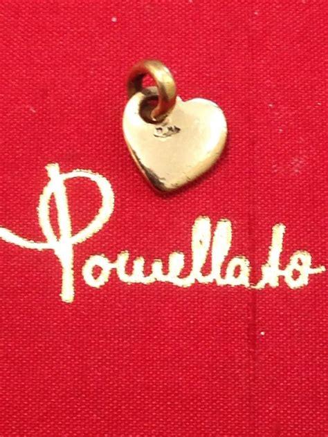 pomellato cuore ciondolo cuore pomellato in oro giallo prezzo da outlet