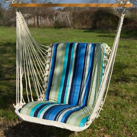 pawleys island swing pawleys beaches stripe single cushioned porch swing