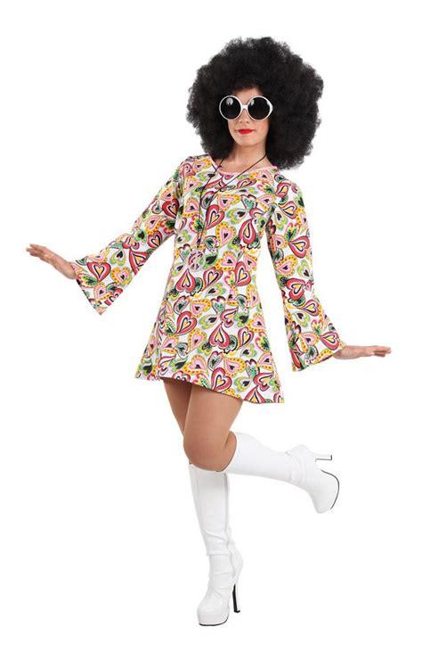imagenes retro de los años 60 disfraz de los a 241 os 70 para mujer perfecto para fiestas