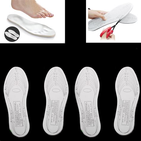 comfort pads for shoes 2 pairs memory foam insoles shoe comfort unisex size