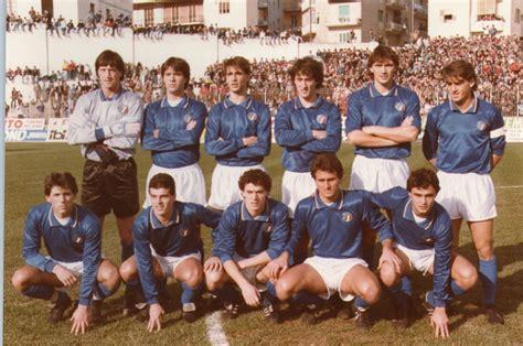 portiere germania 1982 salernitana story cionato serie c1 anno 1985 86