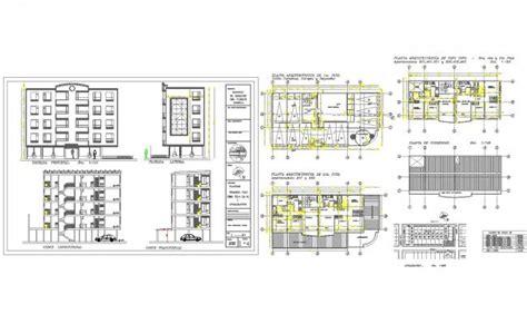 modern multi family house plans modern multi family house plans in cad dwg files