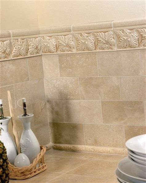 cast stone border mimics     real travertine