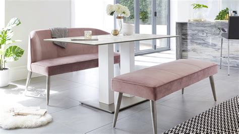 mia  seater white ceramic dining table danetti uk