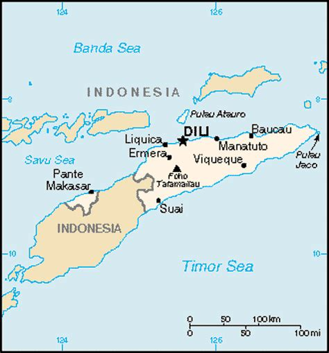 where is east timor on a map east timor and justice bulletin more shootings by