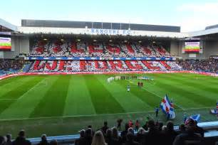rangers home town rangers fc we welcome the rangers fc lest we forget