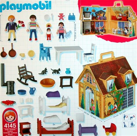 take along dolls house playmobil 4145 doll house to go take along ebay