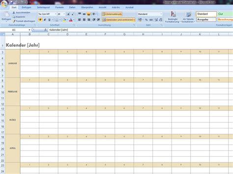 Kalender Excel Vorlage Kalender Excelvorlage De