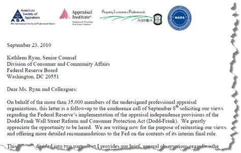 Appraisal Pending Letter Appraisal Scoop Appraisal Institute Asfmra Naifa Reply Regarding The Pending Interim