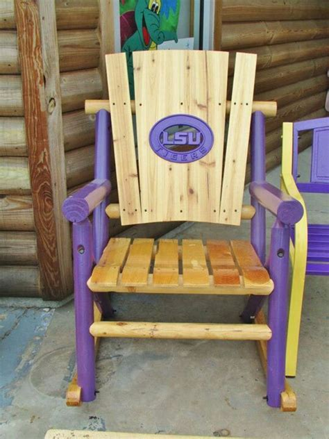 Lsu Chair by Lsu Rocking Chair ღ Lsu