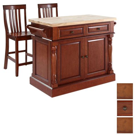 lowes kitchen island shop crosley furniture 48 1 4 in l x 23 in w x 36 in h