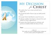 church decision card template decision cards decision card salvation 100 pack