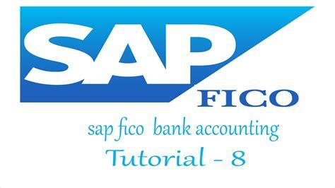 tutorial sap fico sap fico bank accounting configuration full tutorial youtube