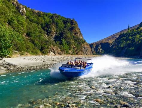 jet boat tour queenstown new zealand queenstown jet boat rides skippers canyon jet queenstown