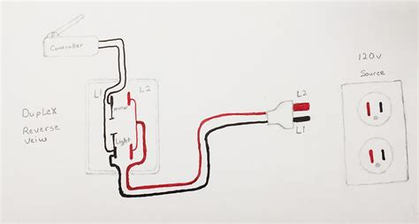 wiring diagram duplex receptacle 3 way outlet wiring