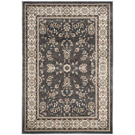 safavieh lyndhurst gray cream 6 ft x 9 ft area rug