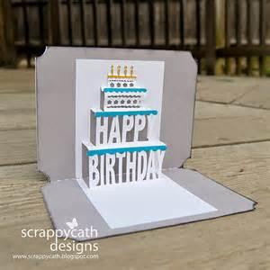 Birthday Pop Up Cards Templates Scraps Of Life Pop Up Birthday Card