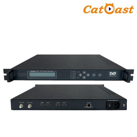 4in1 Cable digital catv 4in1 hdmi dvb c t rf modulator