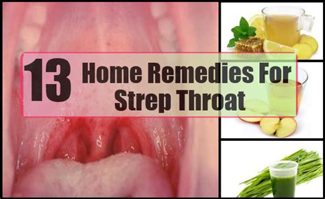 13 remedies for strep throat health awareness