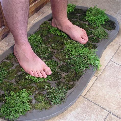 Moss Bathroom Rug How To Make A Moss Shower Mat