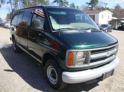 how cars run 2002 chevrolet express 2500 lane departure warning sell used 2002 chevrolet express 2500 cargo in 2849 jefferson davis hwy sanford north carolina