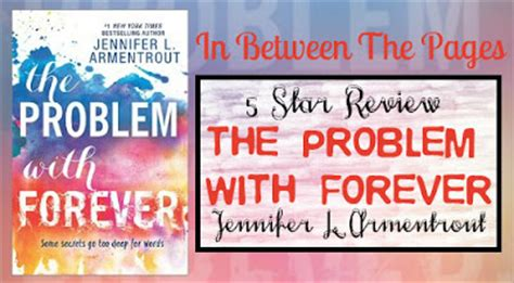 the problem with forever in between the pages the problem with forever by