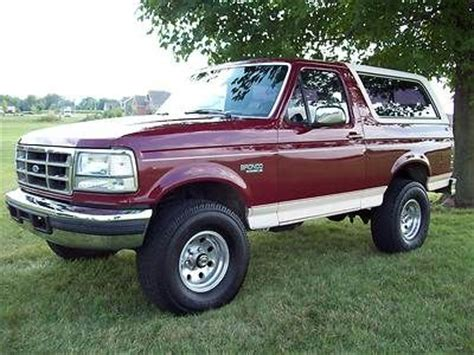 auto air conditioning service 1993 ford bronco parental controls sell used 1993 ford bronco eddie bauer 4x4 leather california rust free old bronco in peru
