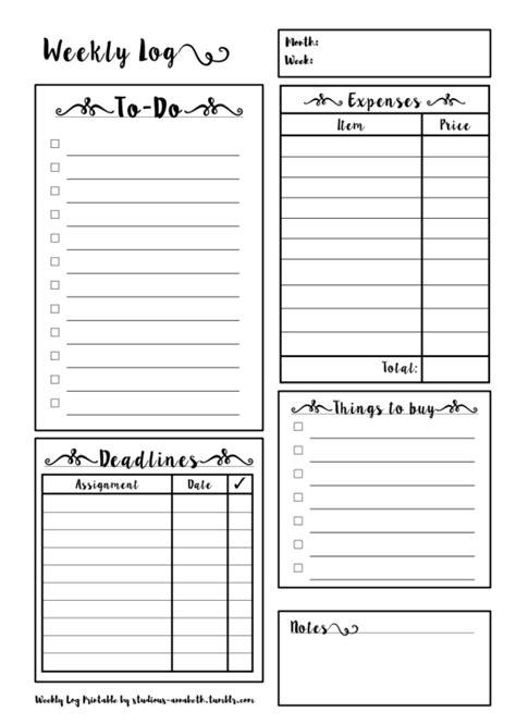 printable daily planner tumblr study planner printable tumblr grades pinterest