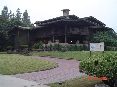 gamble house back to the future panoramio photo of gamble house doc brown s house in back to the future