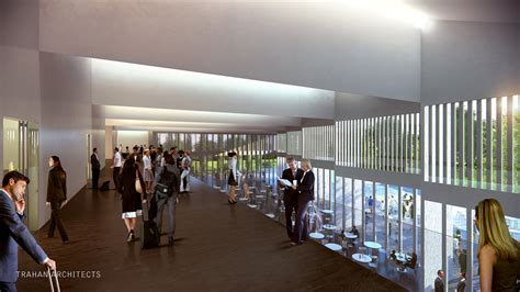 Convention Interior Design by Gallery Of Trahan Architects Design Expo