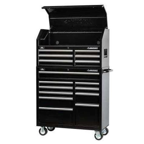 Husky 52 In 13 Drawer And 1 Door Tool Chest And Cabinet by Husky Tool Chests Tool Storage The Yeahdepot
