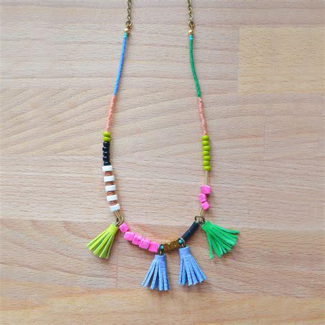 beaded tassels boo and boo factory handmade geometric leather jewelry