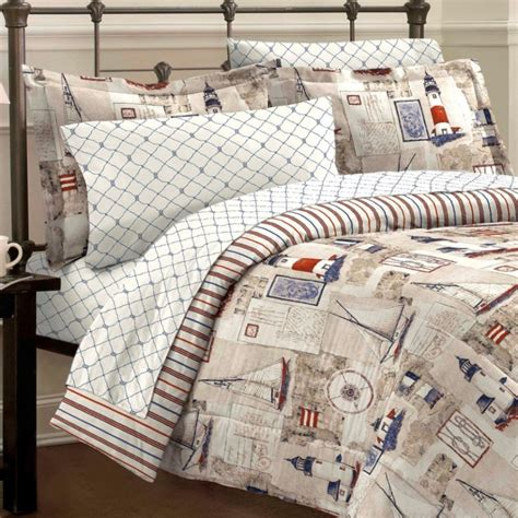 nautical bed sheets nautical comforter set cape cod sailing whyrll com