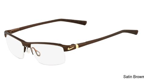 buy nike 6050 semi rimless half frame prescription