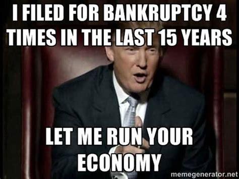 donald trump memes bankrupt  times   run america political memes today