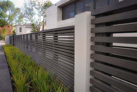 contemporary fences