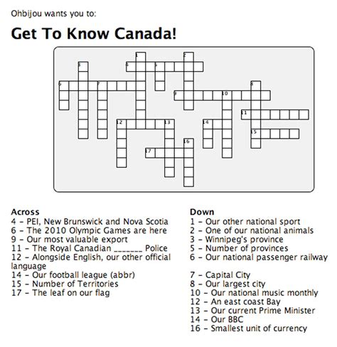 printable puzzle of canada bella union week ohbijou wants you to get to know