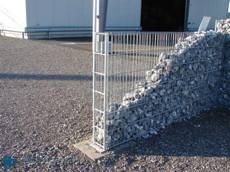 gitter mit steinen marxer metallbau ag steinmauern