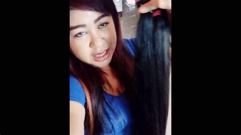 Jual Rambut Palsu Asli jual rambut sambung asli panjang smoothing