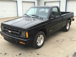 92 chevy s10 black regular cab 350 v8 installed turbo 350 auto mint condition