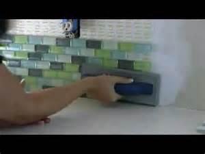tile your backsplash using a tile setting mat