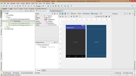 layout xml color pengenalan android studio goomilar 97